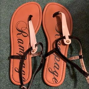Rampage Sandals. Size 10